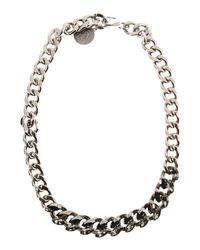 Lanvin - Metallic Necklaces - Lyst