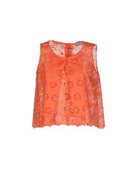 Related - Orange Top - Lyst
