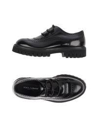 Dolce & Gabbana - Black Lace-up Shoe for Men - Lyst