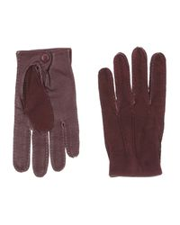 DSquared² - Purple Gloves for Men - Lyst
