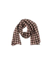 Lagerfeld - Red Oblong Scarf - Lyst