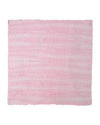 Roberto Cavalli - Pink Square Scarf - Lyst