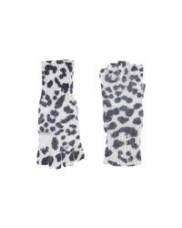 MICHAEL Michael Kors - White Gloves - Lyst
