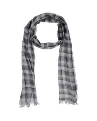 John Varvatos - Gray Oblong Scarf for Men - Lyst