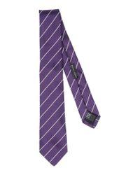 Ralph Lauren Black Label   Purple Tie for Men   Lyst