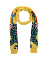 Leitmotiv - Yellow Oblong Scarf - Lyst