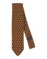 Pal Zileri - Brown Tie for Men - Lyst
