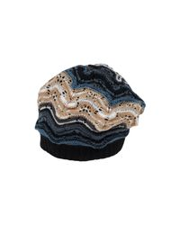 Missoni - Blue Hat - Lyst