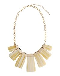 Kenneth Jay Lane - Yellow Necklace - Lyst