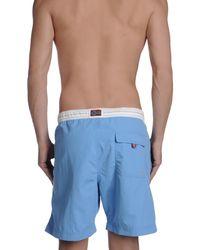 Napapijri - Blue Swim Trunks for Men - Lyst