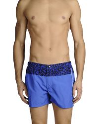Sundek | Blue Swim Trunks for Men | Lyst