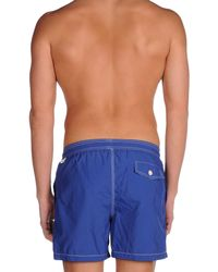 Hackett - Blue Swimming Trunk for Men - Lyst
