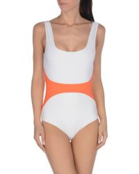 ROKSANDA - Blue One-piece Swimsuit - Lyst