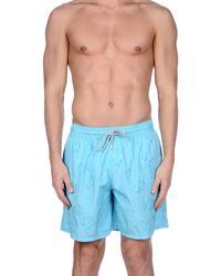 Vilebrequin Swim Trunks in Blue for Men