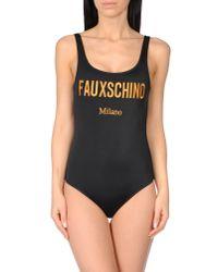 Moschino - Black Costume - Lyst