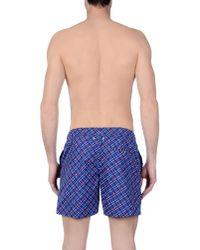 Pedro Del Hierro Madrid - Blue Swimming Trunks for Men - Lyst