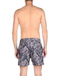 Rrd - Gray Swim Trunks for Men - Lyst