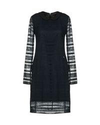 Trussardi - Blue Short Dresses - Lyst