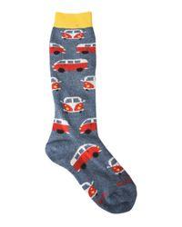 Gallo - Blue Short Socks for Men - Lyst