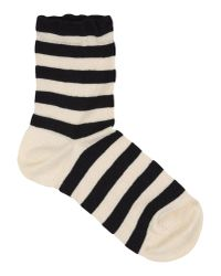 Alto Milano | Black Short Socks | Lyst