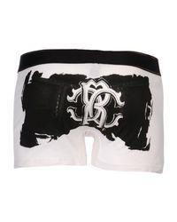 Roberto Cavalli | White Boxer for Men | Lyst