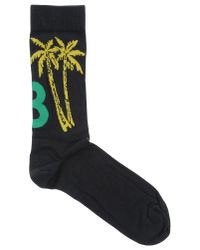 Y-3 - Black Short Socks for Men - Lyst