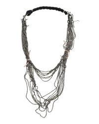 Emanuele Bicocchi - Black Necklace - Lyst