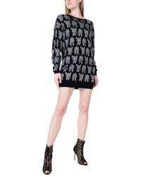 Moschino - Black Short Dress - Lyst