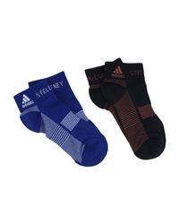 Adidas By Stella McCartney - Blue Short Socks - Lyst