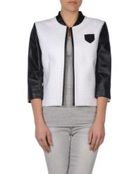 Karl Lagerfeld - Black Jacket - Lyst
