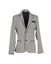 Athletic Vintage - Gray Blazer - Lyst