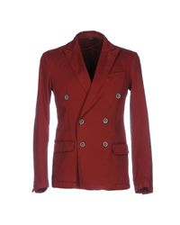 26.7 Twentysixseven | Red Blazer for Men | Lyst