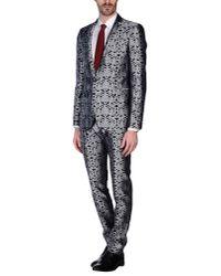 Les Hommes   Black Suit for Men   Lyst