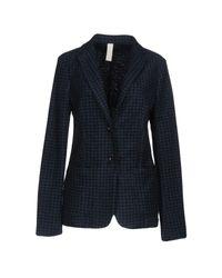 AT.P.CO | Blue Blazer | Lyst