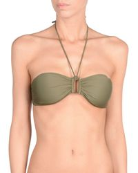 Mileti - Green Bikini Tops - Lyst