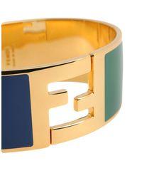 Fendi - Green Bracelet - Lyst