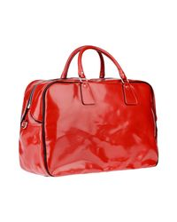 DSquared² Red Travel & Duffel Bag