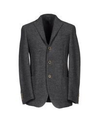 Siviglia - Gray Blazers for Men - Lyst