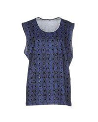 Odi Et Amo - Blue T-shirts - Lyst