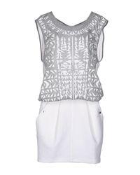 Faith Connexion - White Knee-length Dress - Lyst