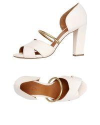 Chie Mihara - White Sandals - Lyst