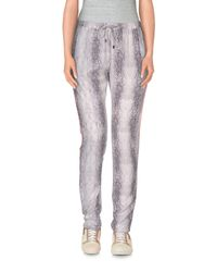 Second Female - White Casual Pants - Lyst