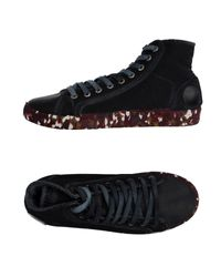 Springa - Black High-tops & Sneakers - Lyst