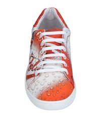 Moschino - Orange Low-tops & Sneakers for Men - Lyst
