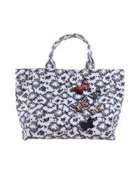Pinko - Gray Handbag - Lyst