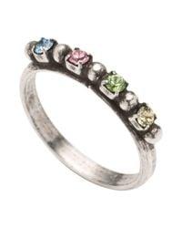 DANNIJO - Metallic Ring - Lyst