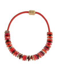 Marc By Marc Jacobs | Red Necklace | Lyst