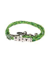 Venessa Arizaga - Green Bracelet - Lyst