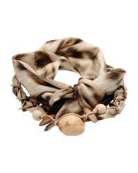 Roberto Cavalli - Natural Bracelet - Lyst