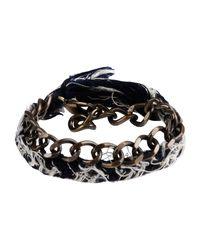 Jo No Fui - Blue Bracelet - Lyst